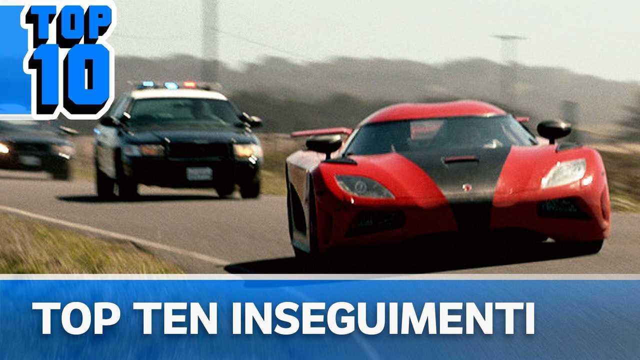top 10 inseguimenti