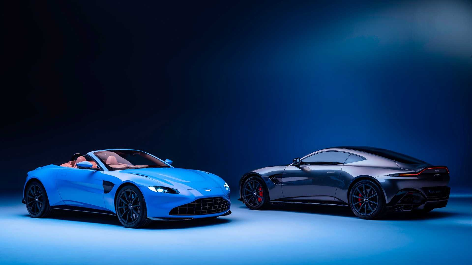 2021 Aston Martin Vantage Roadster Has World S Fastest Convertible Roof