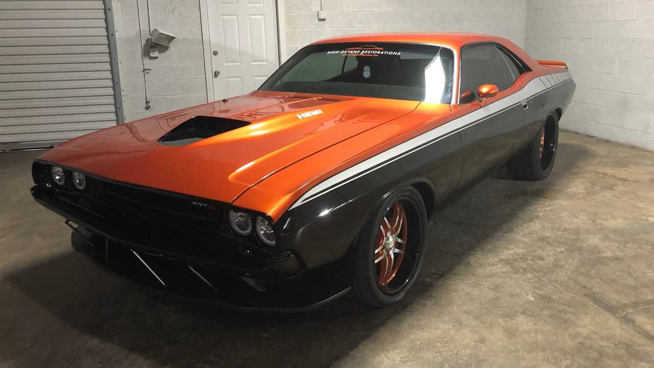 Modern Hemi Power Moves This 1972 Challenger Restomod