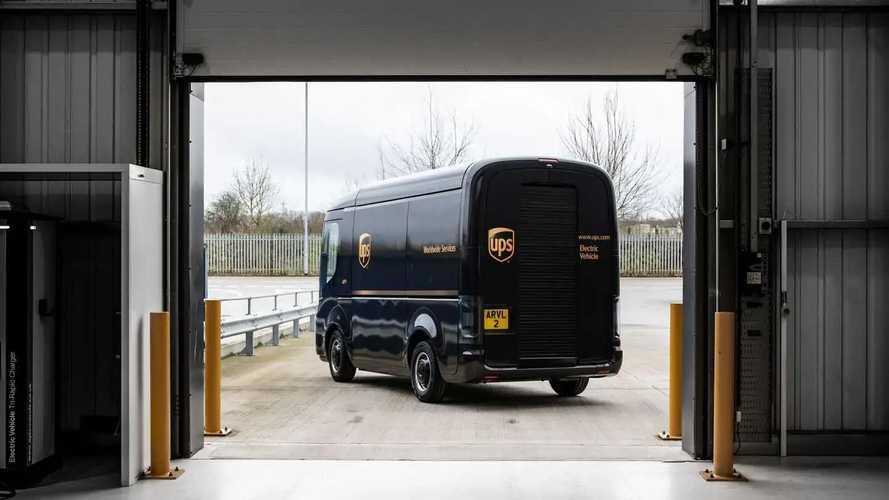 Arrival's Generation 2 Electric Vehicles in UPS fleet