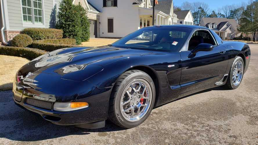 Roast Rubber In This 2003 Chevy Corvette Z06