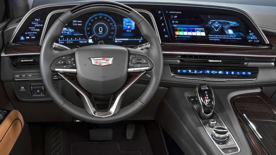 """Nuova Cadillac Escalade, schermo da 38"""" per il SUV dei VIP americani"""