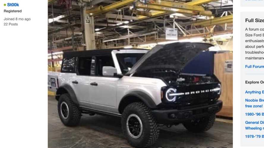 2021 Ford Bronco completely revealed... or maybe not
