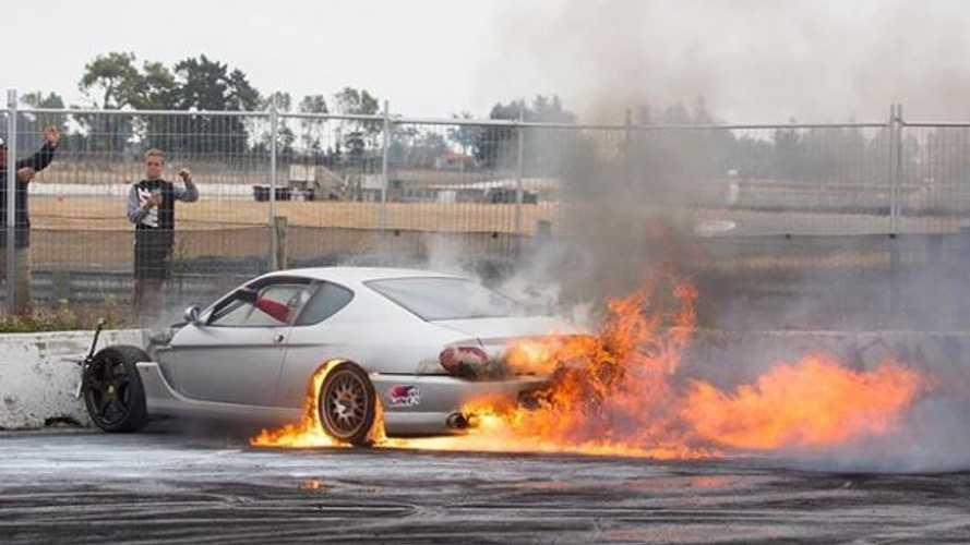 La seule et l'unique Ferrari 456 GT à moteur rotatif Mazda