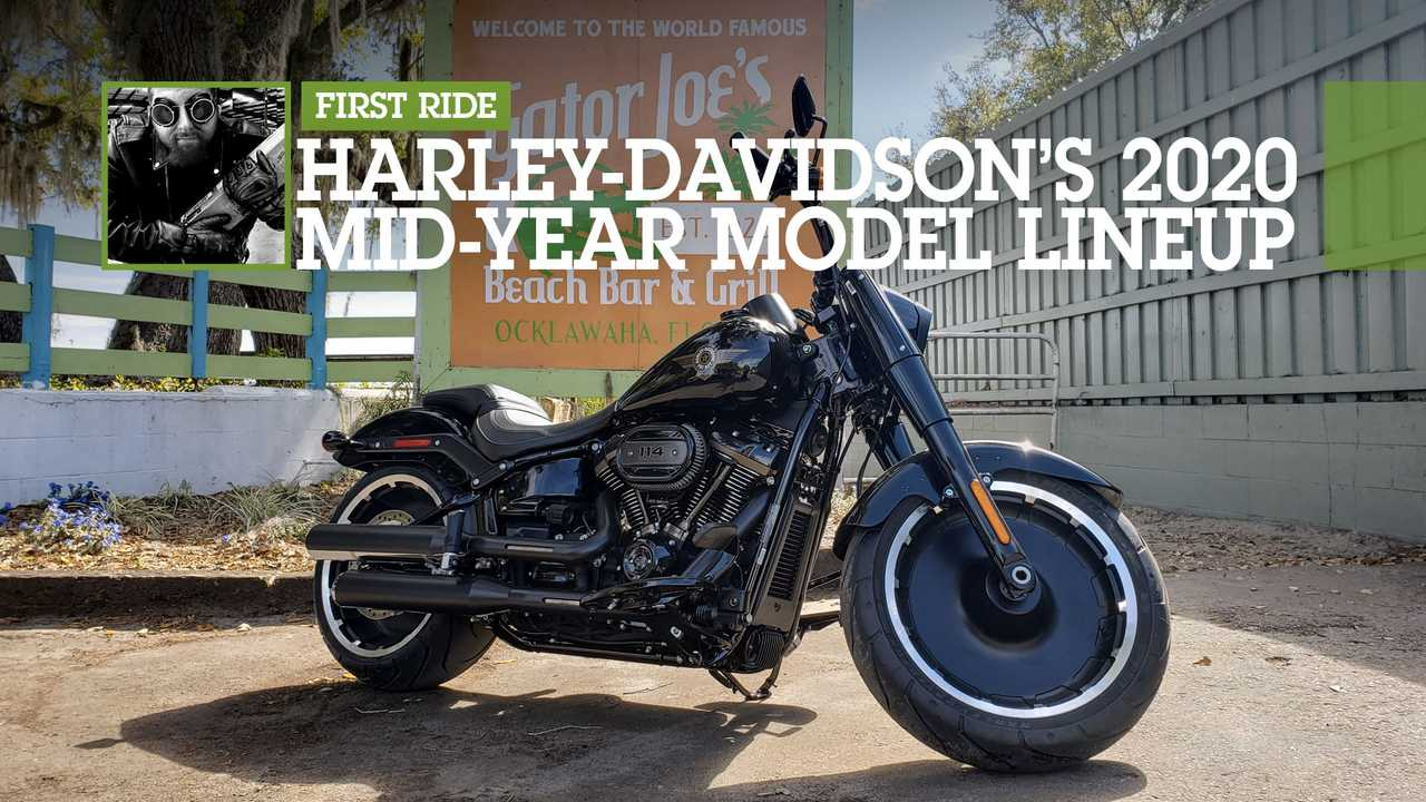 Harley 2020 Mid-Year Lineup Feature