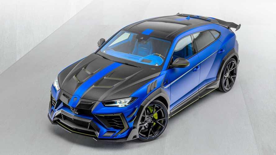 850 lóerős szörnyeteget csinált a Mansory a Lamborghini Urusból