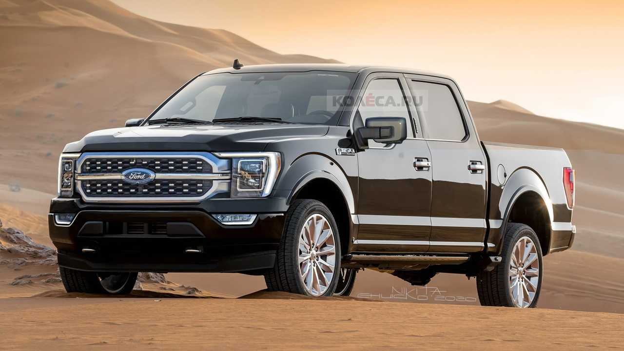 Ford F-150 2021 - Projeção
