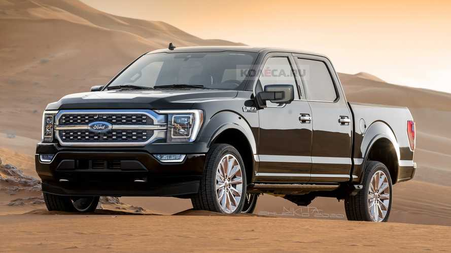 2021 Ford F-150 Renderings
