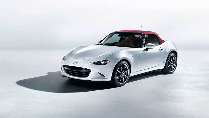 Mazda's 100th Anniversary cars arrive in the UK