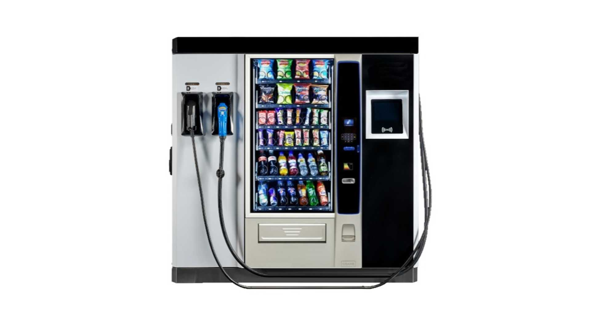 eVolt Reveals SnackAndCharge: World's First Vending ...