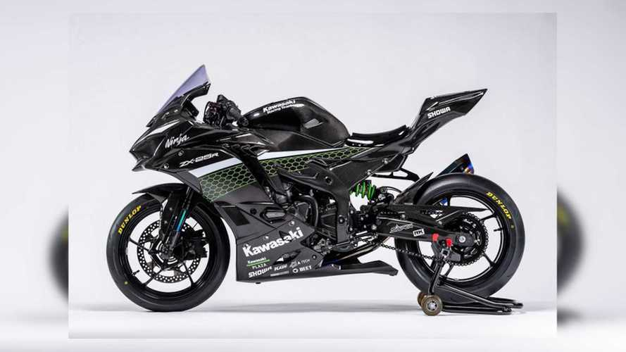 Kawasaki Reveals Its New Race-Spec ZX-25R