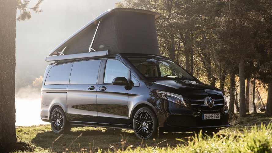Mercedes-Benz debuts sportier Marco Polo camper van in Germany