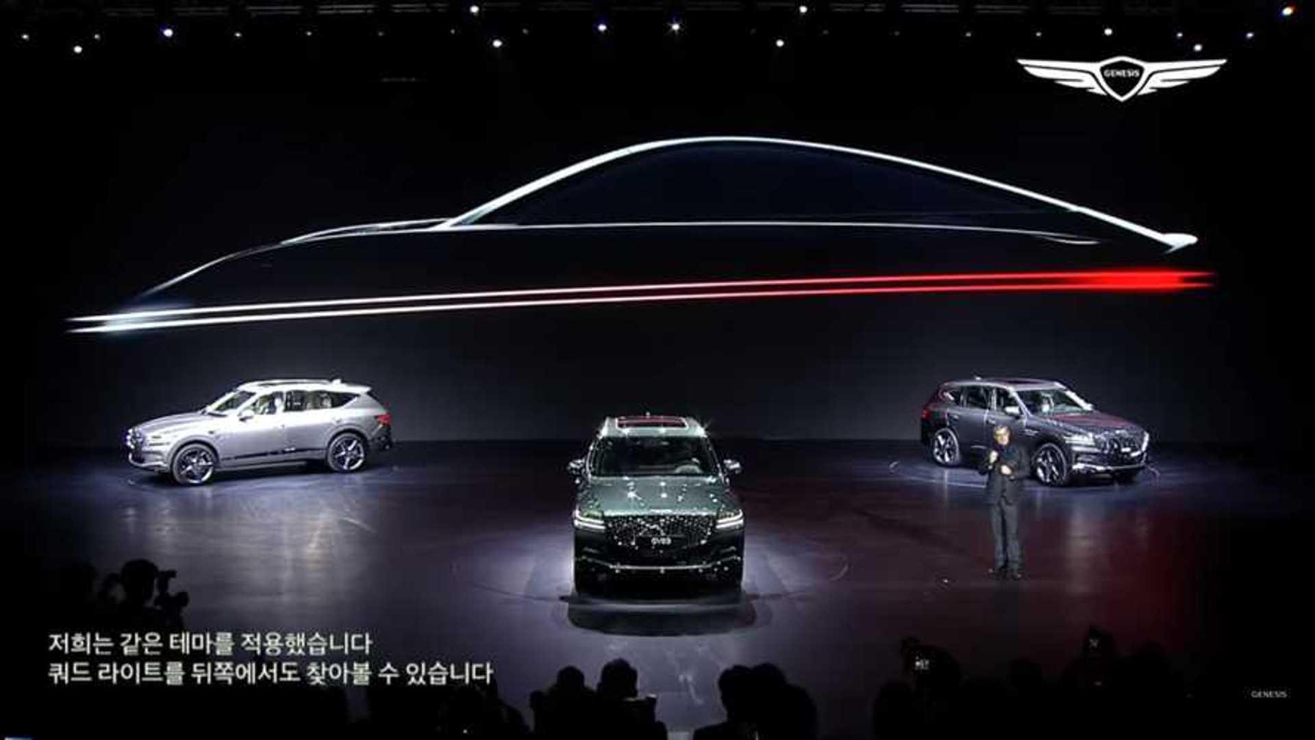 Genesis teases six-model lineup, including sleek coupe