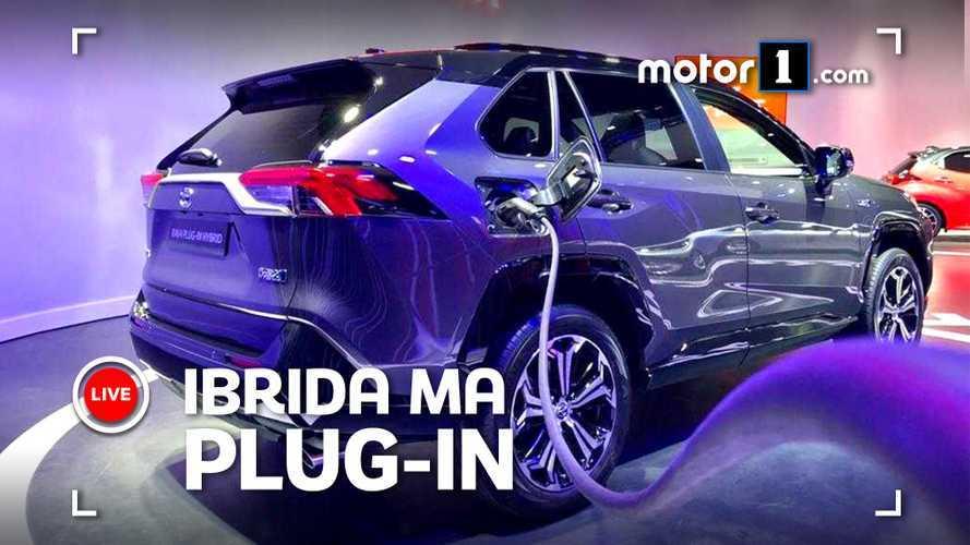 Toyota RAV4 plug-in, arriva in Europa a metà 2020