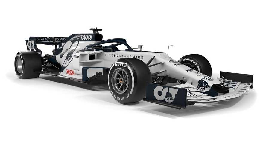 AlphaTauri Presents New-Look F1 Car For 2020