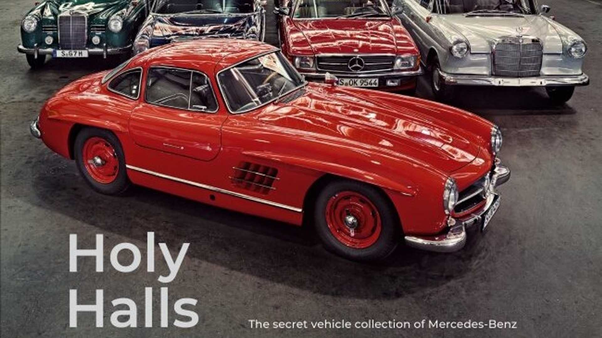 """[""""'Holy Halls' Mercedes Book Is Basically A  Work Of Art""""]"""