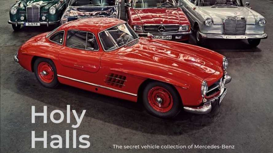 'Holy Halls' Mercedes Car Collection Book Is A  Work Of Art