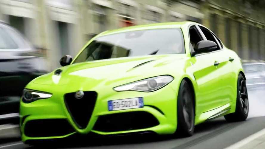 6 Underground, Alfa Romeo Giulia Quadrifoglio Neon Green