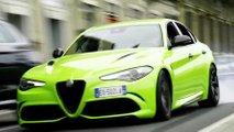 6 Underground, l'Alfa Romeo Giulia Quadrifoglio in Neon Green