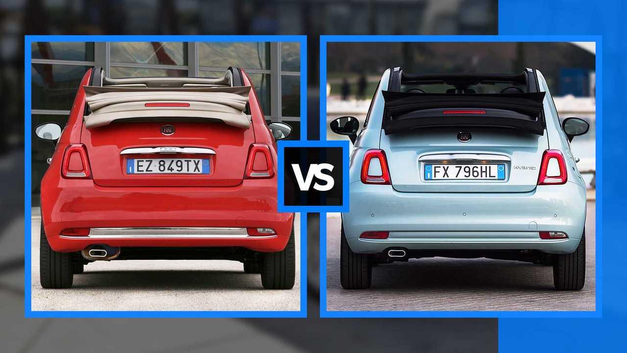 Fiat 500 Hybrid e le altre 500