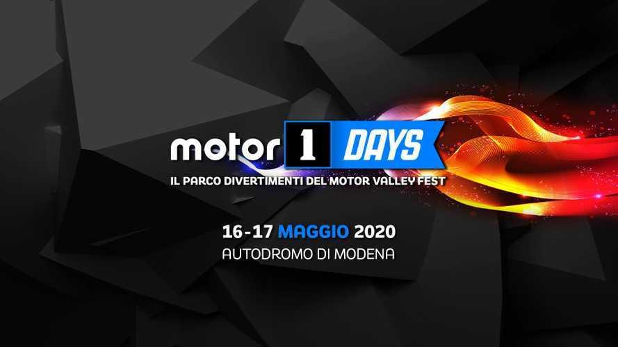Motor1Days 2020, è a Modena la festa dei motori il 16 e 17 maggio