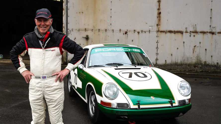 Porsche builds early 911 for Attwood and Reid to race