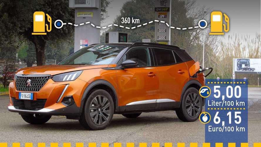 Tatsächlicher Verbrauch: Peugeot 2008 Puretech 155 im Test