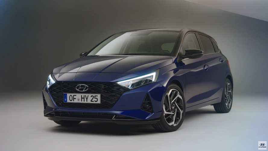 2021 Hyundai i20 Screenshot