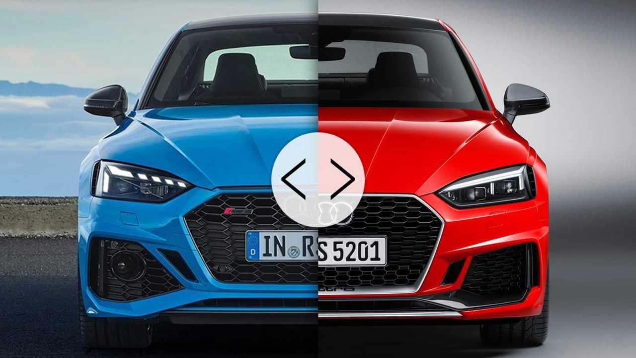 Audi RS 5 Avant/Après