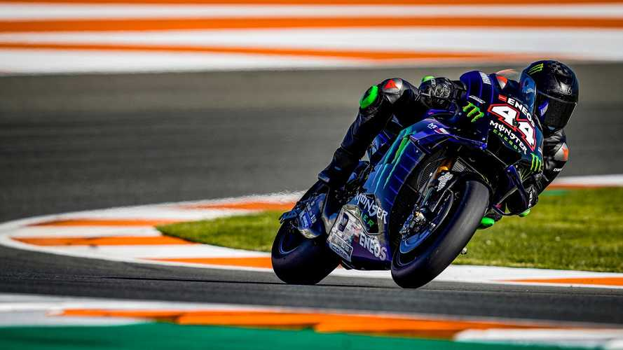 Watch Hamilton's onboard lap riding Rossi's Yamaha MotoGP bike