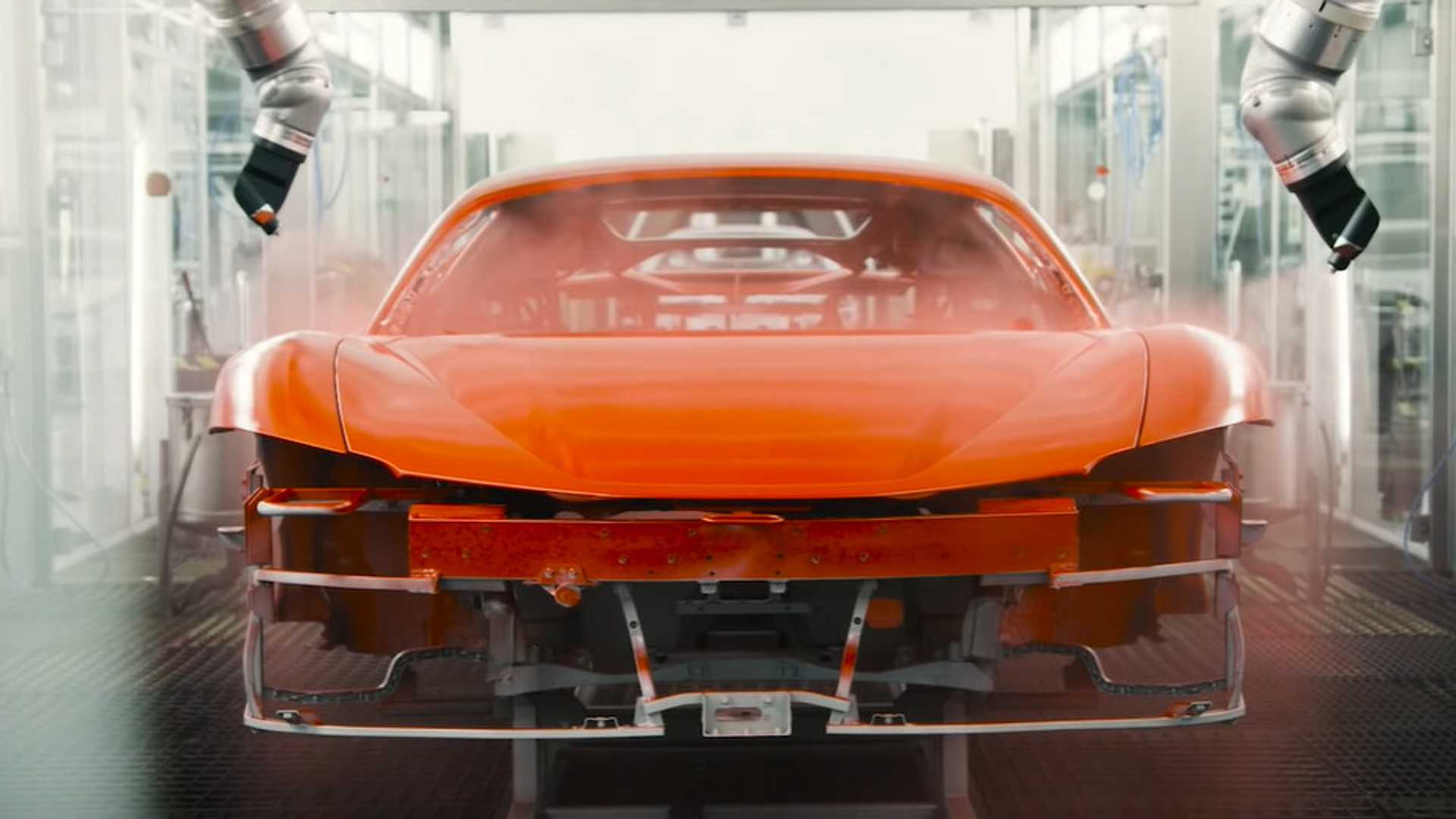 Ferrari Shows What It Takes To Build The Sf90 Stradale