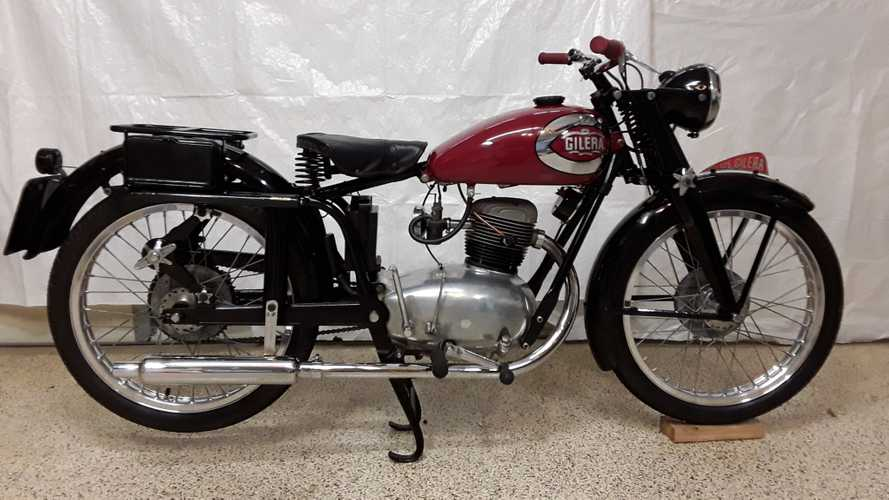 This Cheery Cherry 1949 Gilera 125 Is Up For Grabs
