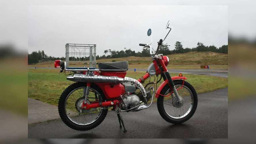1969 Honda Suitcase Cycle CT90