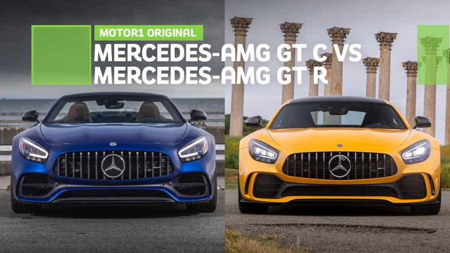We Drive The 2020 Mercedes-AMG GT C And GT R Back-To-Back: Video