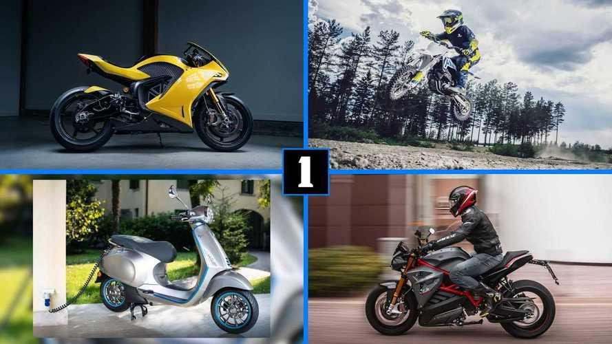 DIAPORAMA - Les motos électriques qui font leur apparition en 2020