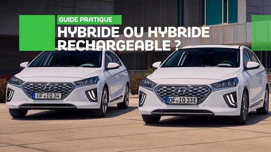 Hybride ou hybride rechargeable, quelles différences ?