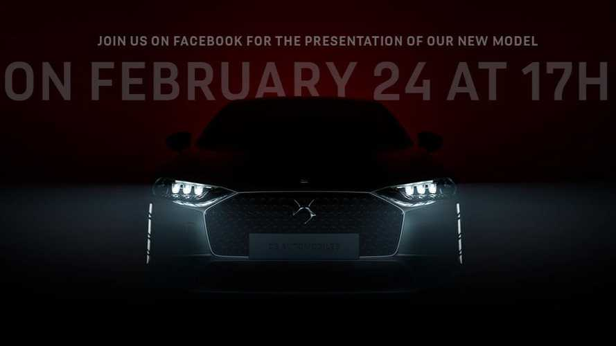 DS Teases New Sedan Ahead Of February 24 Reveal