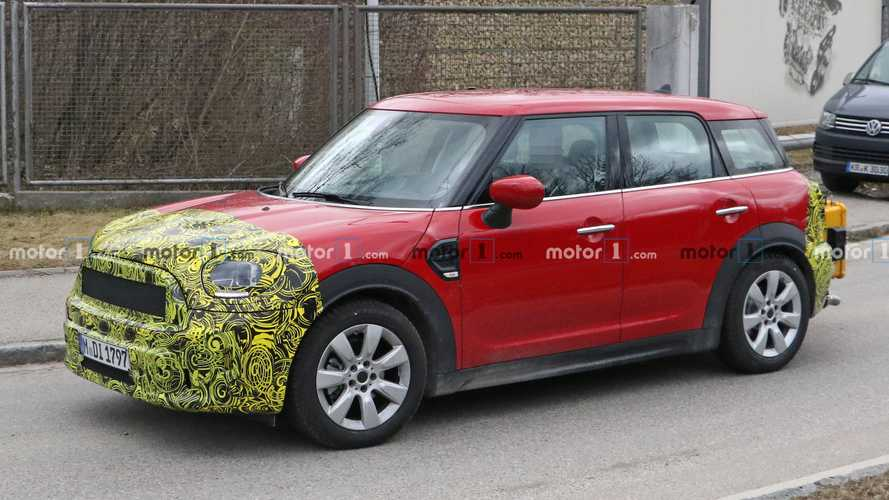 2021 mini countryman facelift spy photo  motor1 photos