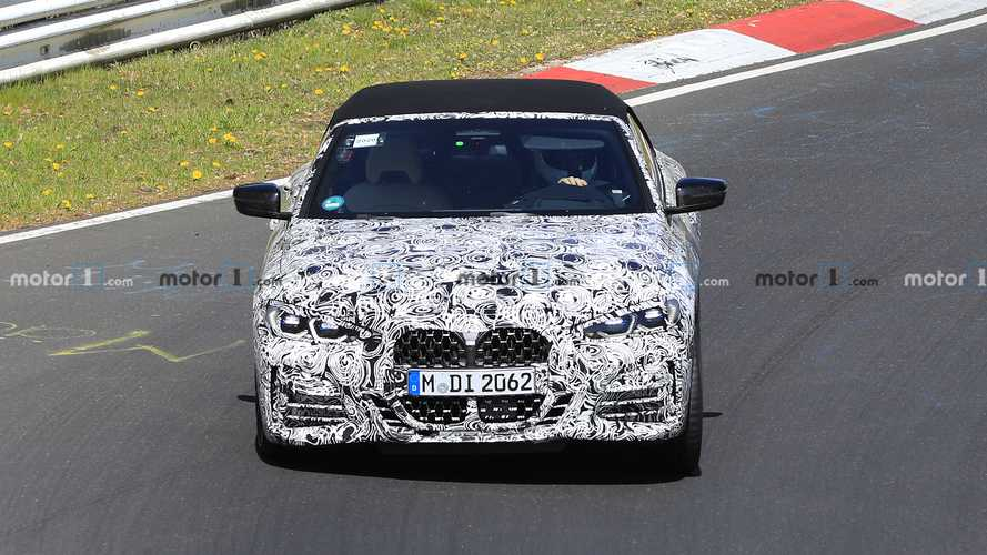 BMW 4 Series Convertible new spy photos
