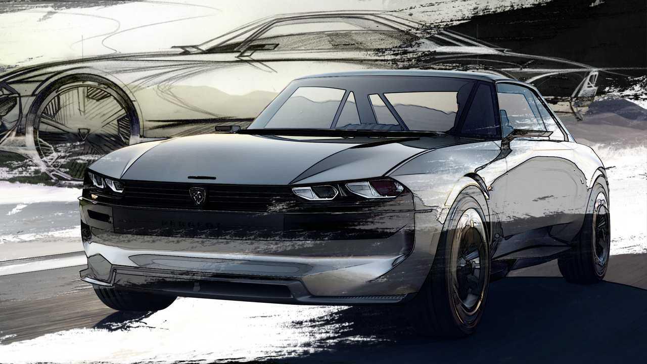 Concept Peugeot e-Legend