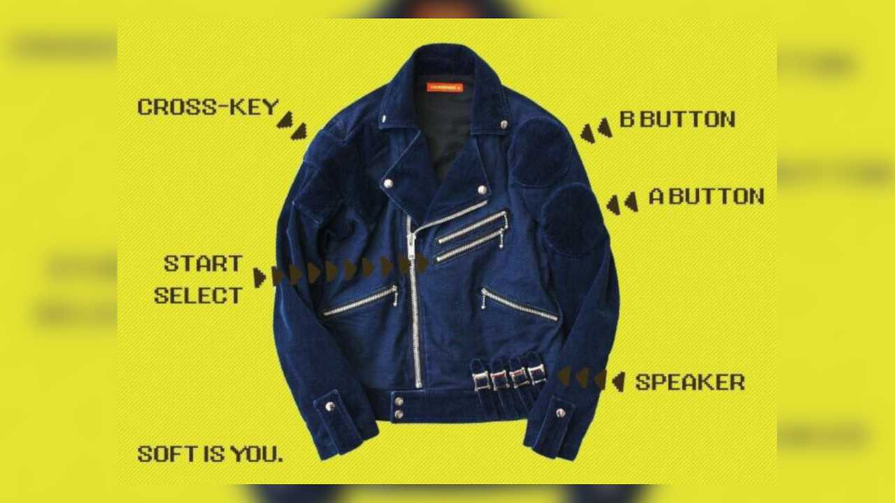 Game Boy Moto Jacket