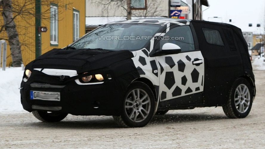 Unknown Chevrolet Prototype Spied--Is It The 2011 Aveo?