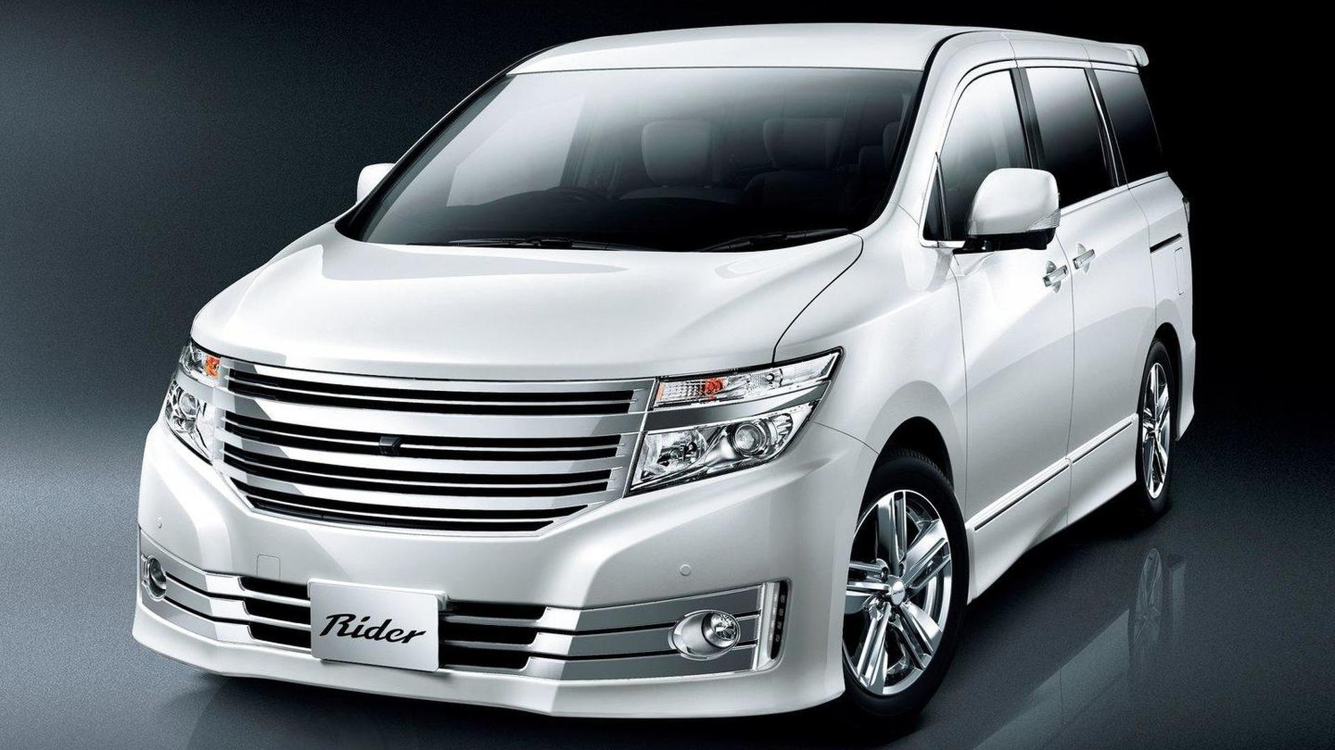 New Nissan Elgrand Luxury Minivan Debuts In Japan Previews 2011