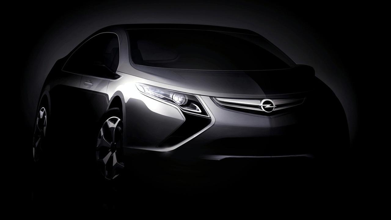 Opel Ampera Electric Vehicle