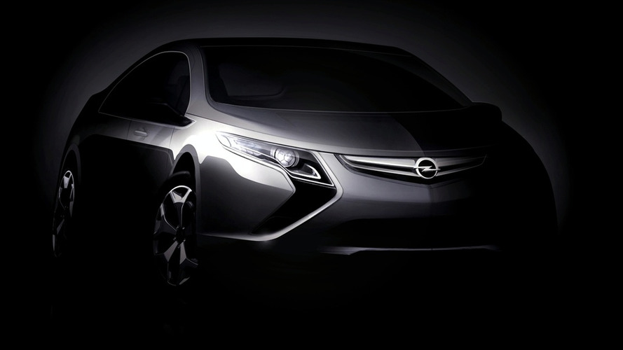 Opel Ampera Electric Vehicle Heading for Geneva in March