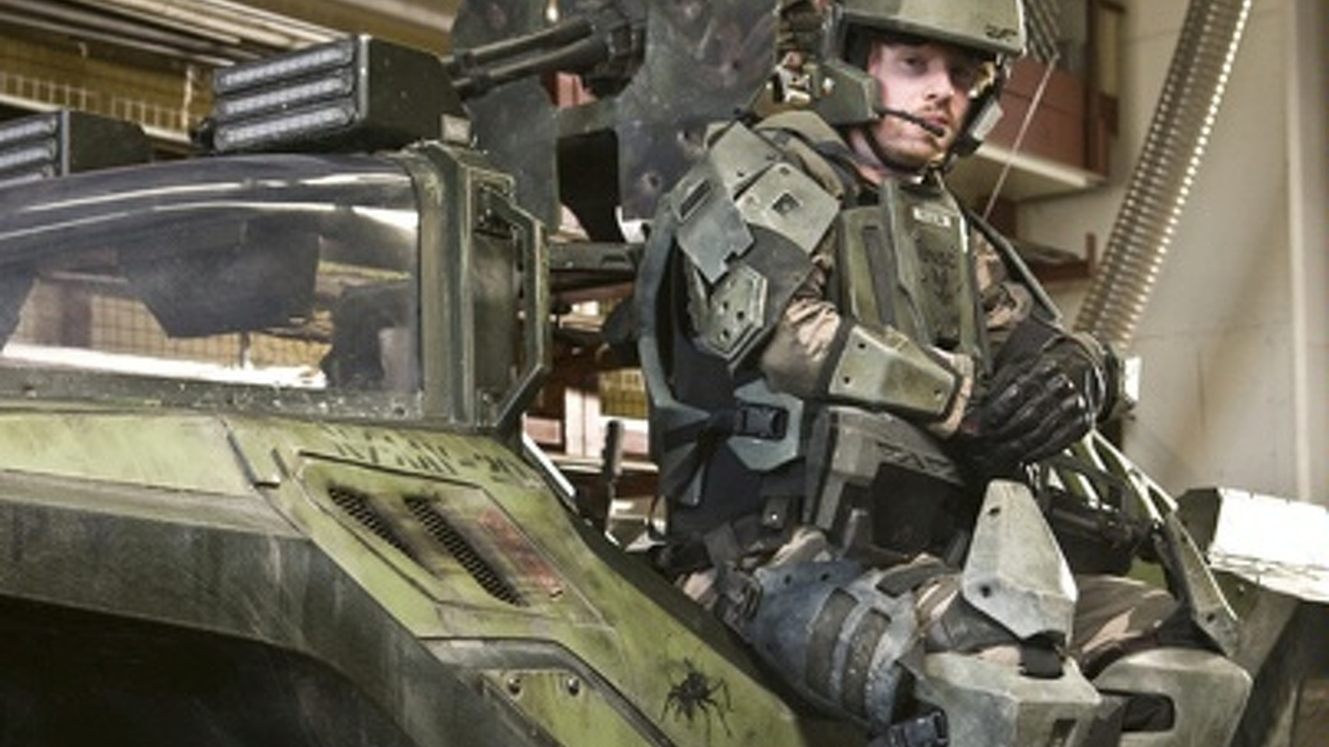Video Game Halo Warthog Real Life Vehicle Goes For Test Drive