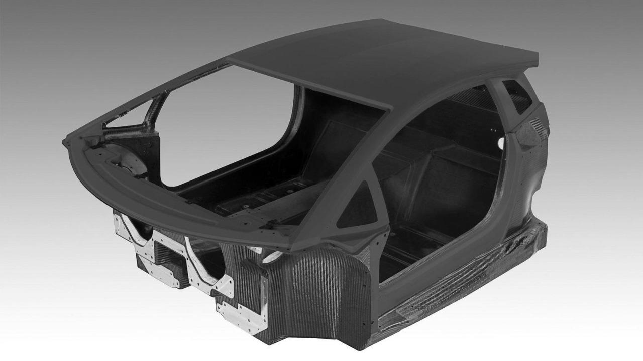 Lamborghini LP700-4 Aventador all-carbon fiber monocoque 11.02.2011