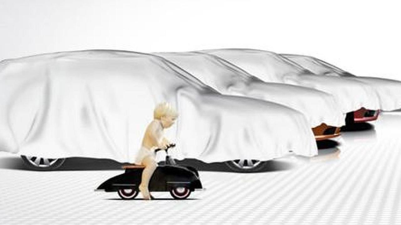 Saab Geneva Motor Show teaser - 14.2.2011