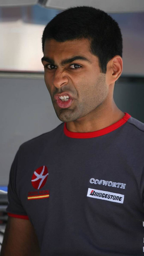 Lack of funds could cost Chandhok F1 seat - report