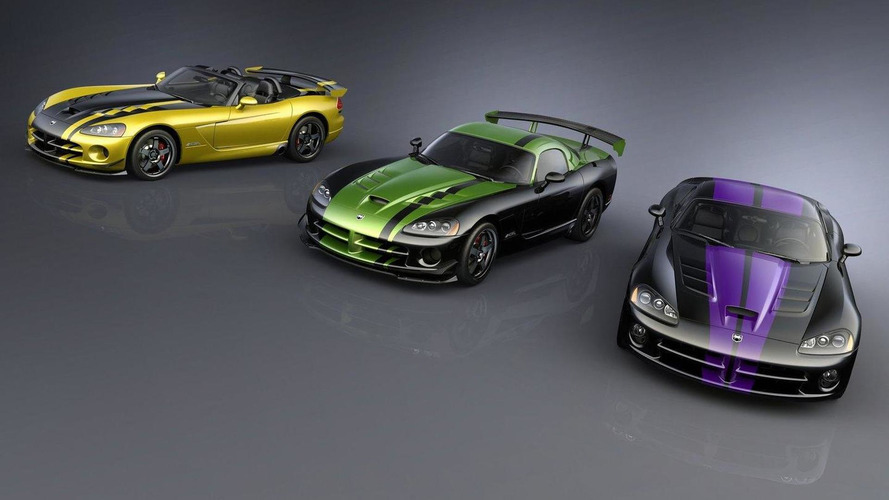 2010 Dodge Viper SRT10 custom special editions for top dealers announced
